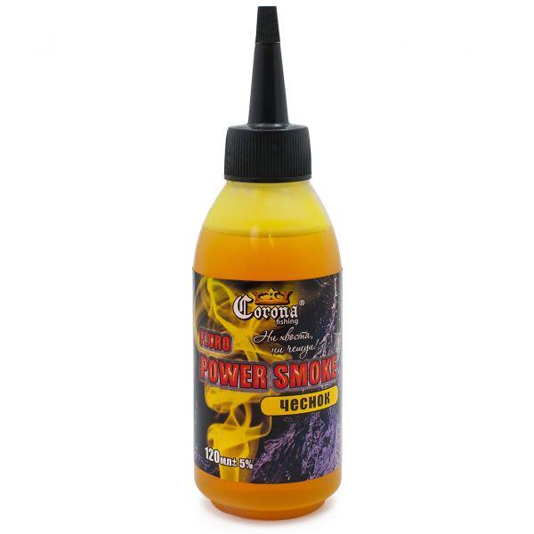 Короповий аттрактант Fluro Power Smoke - Часник - 120 мл