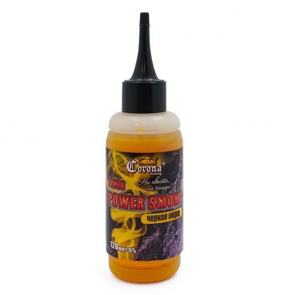 Короповий аттрактант Fluro Power Smoke - Чорна ікра - 120 мл