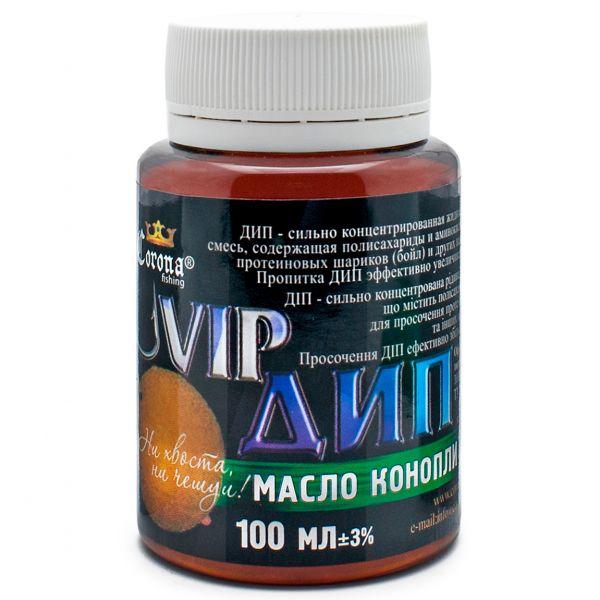 Карповый Vip Дип - Масло конопли - 100 мл